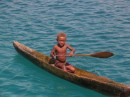 Young paddler visits us across from Tavanipupu
