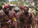 Chiefs Norbert and Sekor : from Ambrym Island, Vanuatu at the National Festival in Port Vila, 2009