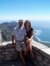 Mark and I at the top of Table Mountain