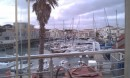 The view from Chez Patrick Restaurant of the Port