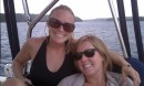 Shadow and Britt (s/v Zoe) spend the day on At Last
