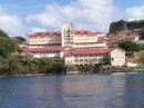 A hospital in Grenada right on the water - what a view!