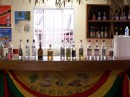 The rum tasting bar - yes, you can try all of them but I don