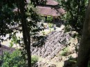 We had a bit of a hike down to the Goa Gajah Temple and this was a view from above