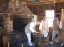 Mount Vernon has a full functioning black smith shop where they make iron works that are needed to renovate the estate