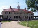 Mount Vernon does not have a front door or back door, they were referred to as the East entrance and West entrance.
