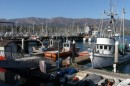 Santa Barbara Marina where we waited out some windy weather.  Yes folks  -  it