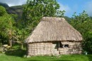 To our surprise, many people in Yaloba Village were living in traditional thatch houses or bures.