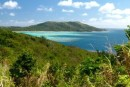Great view hiking across Nanuya Island from the Blue Lagoon.