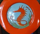 There are lots of funky shops in Avalon with boaty items like this seahorse platter.