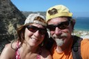 Hiking and happy on San Miguel Island!