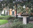 The South East corner of another beautiful Savannah square.