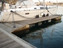 Interesting mooring method at Sines - could we use any more lines!