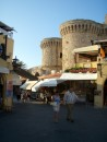 The North gate to Rhodes old town