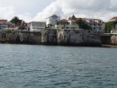 View of Cascais from the dingy