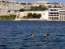 Heatwave in Malta - time for a swim