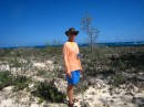 Gazing out the other shore of No Name Cay. Abaco, Bahamas 2-22-12