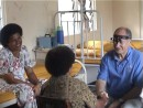 Burger seeing patients in Kadavu clinic