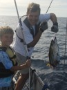 Partial Yellowfin Tuna...rest is in the shark
