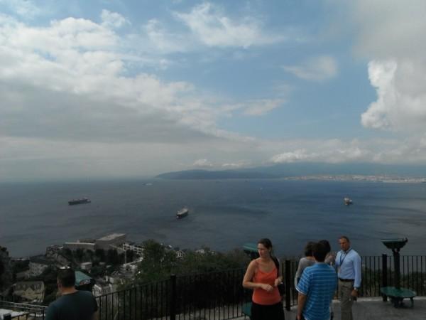 The Straits of Gibraltar