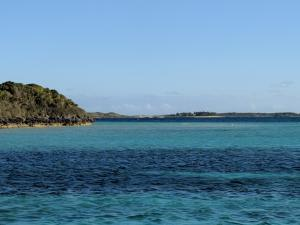 Anchorage between Cabbage and Lizard Cays