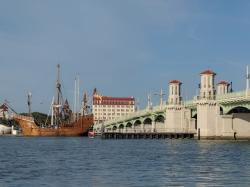 Santa Maria replica by the Bridge of Lions, St. Augustine