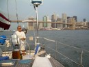 Bruce2: The captain navigates through the East River