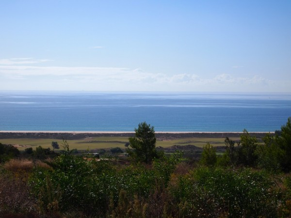 View from the Palmares Golf Course overlooking the Lagos bay