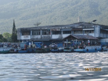 Bitung Harbour, Sulawesi