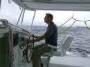 Kerry at the helm