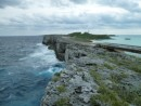 Eleuthera--stormy Atlantic on the left, calm bay on the right