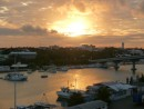 Sunset over Nassau