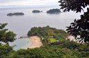 View from the top of Coiba Island, what used to be a prison island