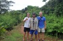 Our Coiba guide with Ben & Larry