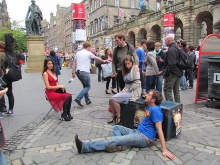 Fringe performers
