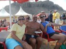 Beach party (Linda and Dave and Brenda from Asylum)