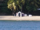 Wedding on the beach, Rodney Bay