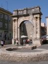 Pula,  Arch of the Sergians