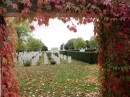 WWII cemetery near the Normandy beaches