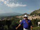 Etna in background