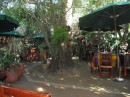patio in restaurant in El Quilite