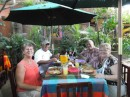 lunch with Cliff and Lynne in El Quilite