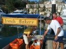 The French Baker delivering to your boat every morning.