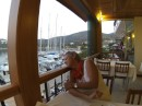 Datca marina, seen from the posh restaurant