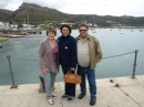 Ben and Elize in Simonstown