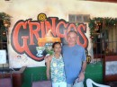 Gringos Mexican restaurant owners Greg and Lowder in Bocas Town