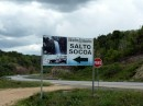 Salto Socoa.  Waterfall on Hwy 7 on the way to Samana, DR