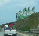 This is the biggest Presidente beer sign we