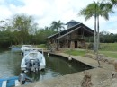 Dinghy dock - 5 min walk from eco resort
