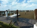 This is the Old Bahama Bay Marina at West End which is now 1/2 full of seaweed.
